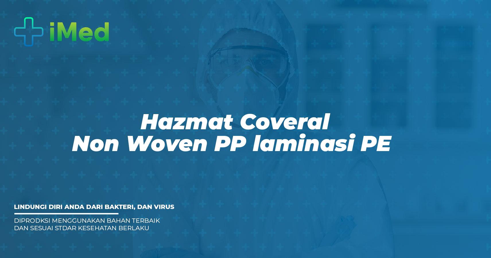 Hazmat Coverall non Woven PP Laminasi